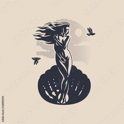Fotografia, Obraz Goddess Aphrodite or Venus.