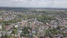 Aerial View Of German Suburb N...
