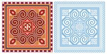 Vietnamese Brocade Pattern (5) - Tile Pattern Style