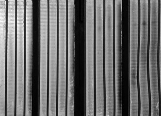 black and white striped background window