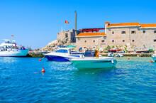 The Tourist Boats In Petrovac ...