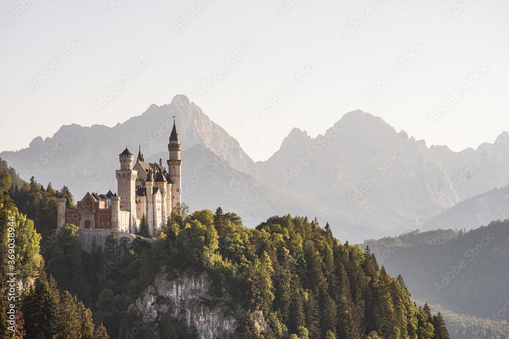 Fototapeta The fairytale castle
