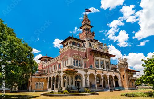 Obraz Palacio das Industrias, a historical building housing Catavento science museum - Sao Paulo, Brazil - fototapety do salonu