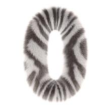 3d Zebra Creative Decorative Fur Number 0