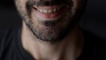 Close Up Of Smiling Man. Cauca...