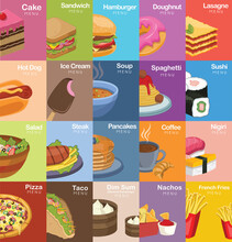 Set Of Food Icons 2