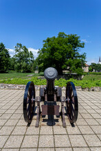 Cannon In The Courtyard Of The...