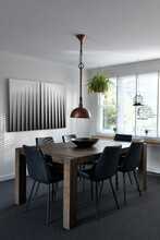 Small Modern Dining Room With ...