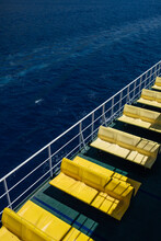 Colorful Ferry Ride