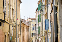 Narrow Streets In France