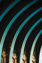 Tower Bridge Arch Abstract