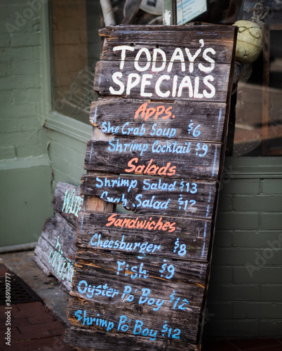 Today's Specials Sign Wallpaper Mural