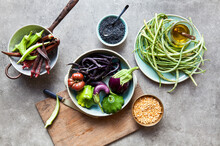 Assortment Of Vegetables And L...