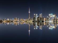 Toronto Evening Cityscape