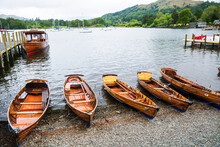 Boats On Lake Windermere