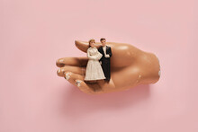 Vintage Wedding Cake Figurines...