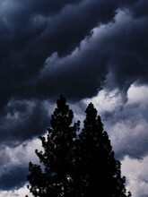 Mountain Storm Clouds