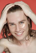 Morning Beauty Procedures Male Portrait