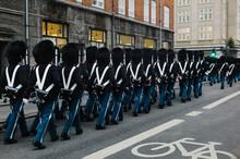 The Honor Guard In Copenhagen