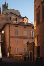 Sunset In Siena