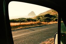 Driving Along Wild California ...