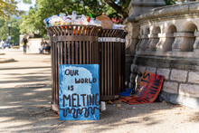 Climate Change Protest Stock P...