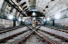Chicago Subway Tunnel
