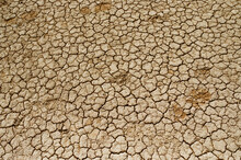 Cracked Soil In Hverir Region ...