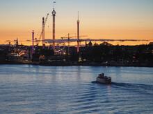 Ferry Approaching Gröna Lund ...