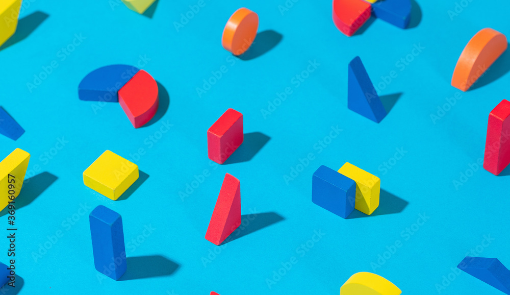 Abstract Geometrical Shapes / Background