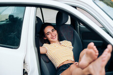Laughing In The Car
