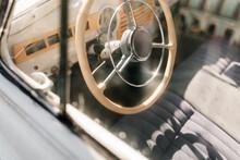 Part Of Vintage Car