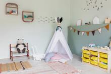 Modern Children's Playroom