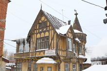 """Girshfeld's Wooden """"fakhverkov..."""