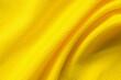 Yellow sports clothing fabric football shirt jersey texture close up