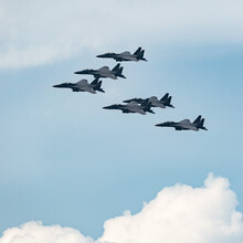 RSAF F-15SG Fighter Jets Forma...