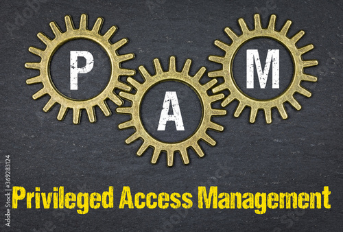 Fotografie, Obraz PAM Privileged Access Management