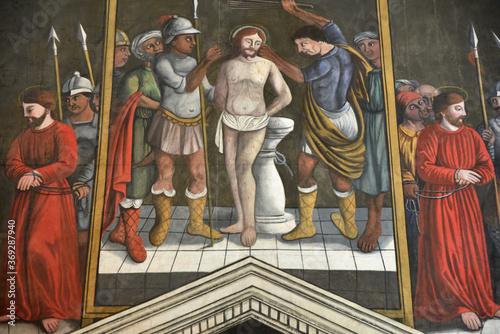Photo Flagellation du Christ à l'église Saint-André à Sant'Andrea di Bozio, Corse