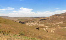 Landscape In The Beautiful Golden Gate Highlands National Park, Freestate, South Africa