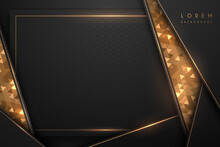 Luxury Black And Gold Background