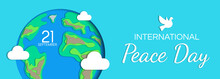 International Peace Day Banner...