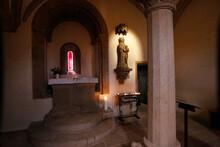 Elisabeth Chapel, Naumburg Cathedral, Church, Naumburg, Saxony-Anhalt, Germany, Europe