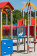 Empty Colorful Playground For Children