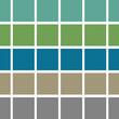 Ilustracion en patron de cuadros verdes de moda para textil o textura de fonto totalmente editables