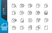 Document File Icon Set