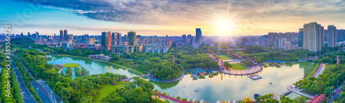 Qiandeng Lake Park, Foshan City, Guangdong Province, China