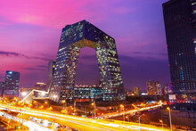 The CCTV Headquarters On The C...