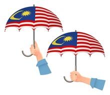 Malaysia Flag Umbrella
