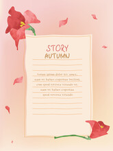 Autumn Frame : Kanna And Writi...