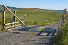 A Cattle Grid On A Lonely Moor...